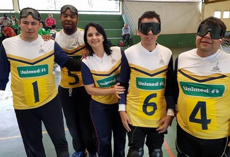Depois de 9 anos, Maringá retoma disputas no Brasileiro de Goalball