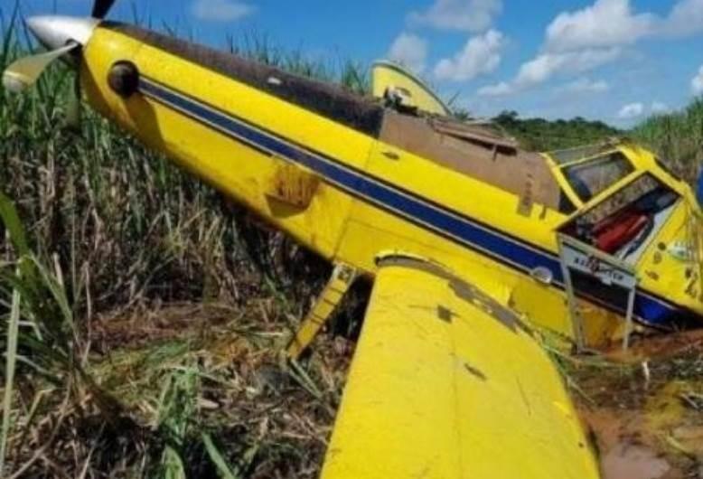 Cenipa deve investigar queda de avião agrícola em Cianorte