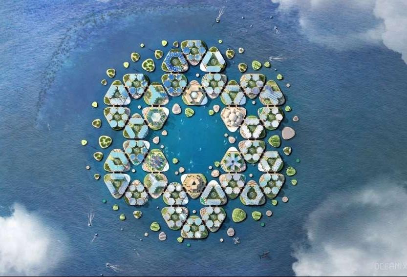 Cidades flutuantes podem contribuir com a sustentabilidade