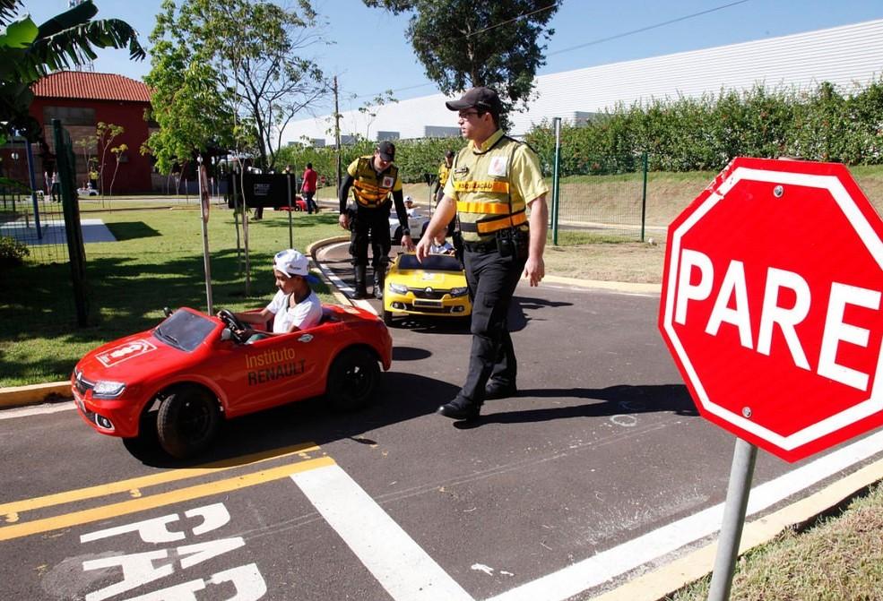 Escolas podem inscrever crianças para oficina de trânsito