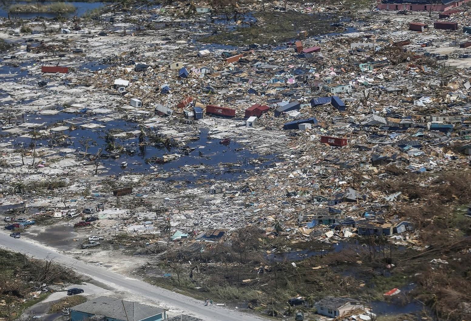 Os impactos do furacão Dorian nas Bahamas