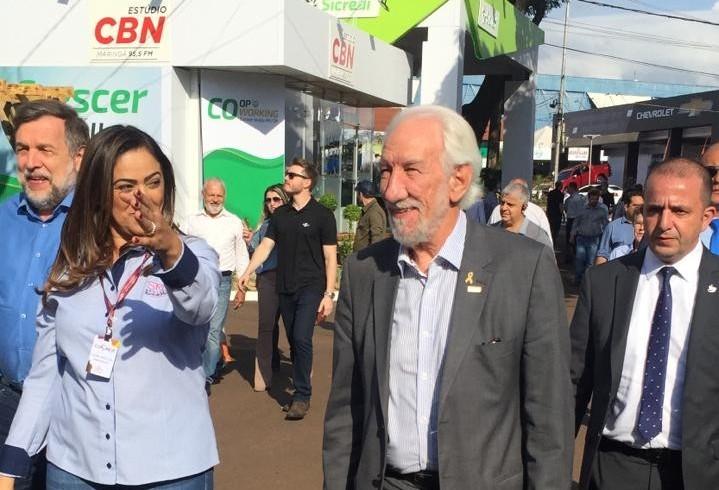 Vice-governador elogia Expoingá