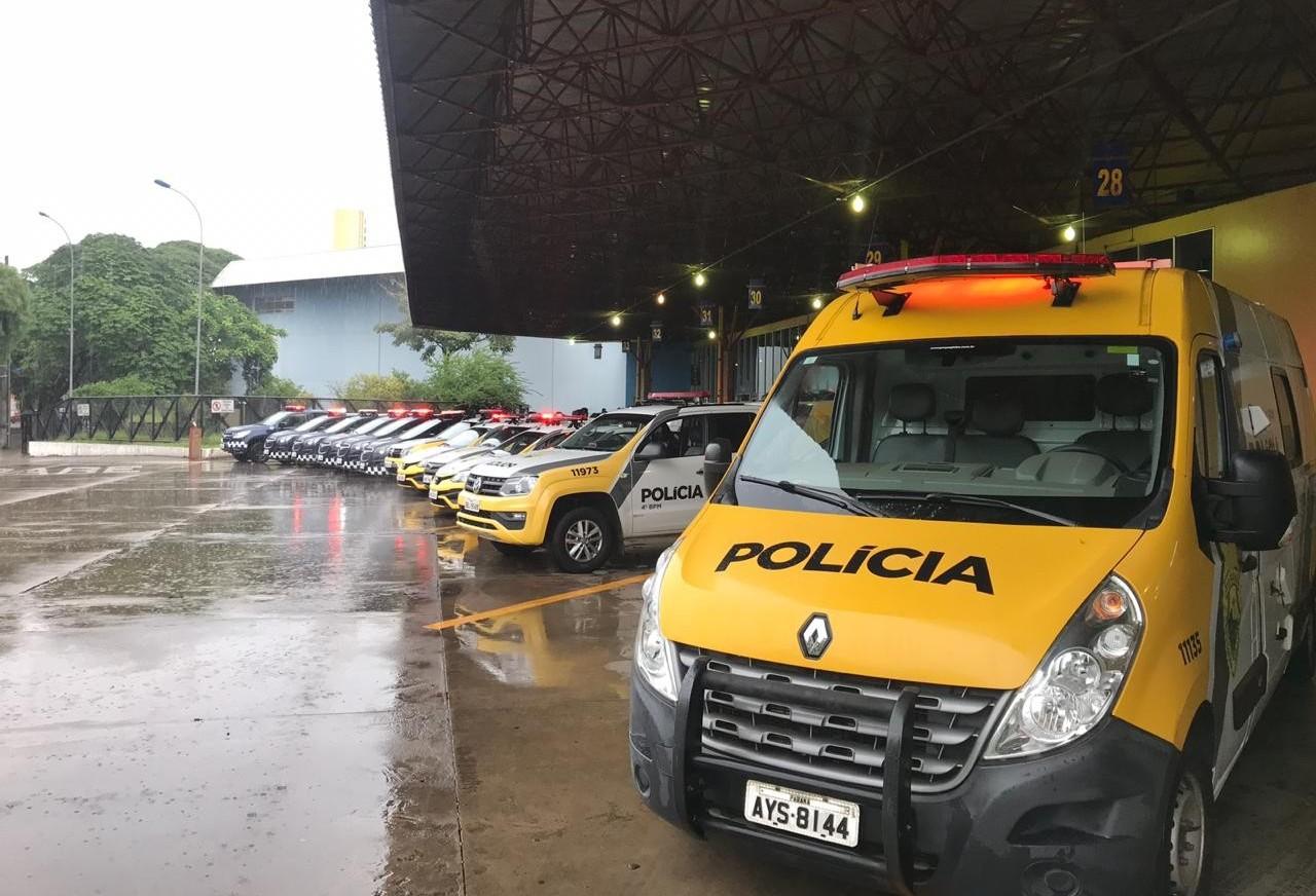 Forças de segurança em Maringá realizam Operação República