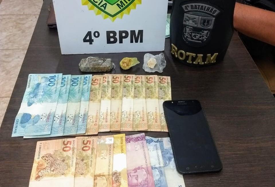 Jovem suspeito de tráfico é detido com droga na Vila Santa Isabel