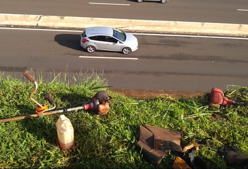Dois trabalhadores se acidentam em Maringá e região