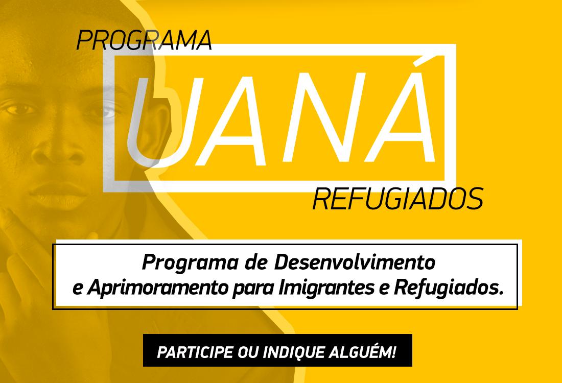 Programa Uaná oferece capacitação aos refugiados