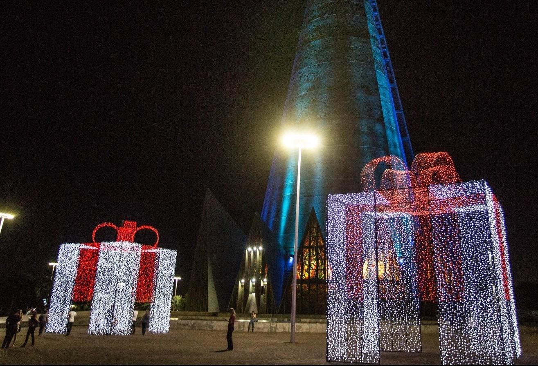 Maringá Encantada, o Natal da cidade, deve ter cheiro