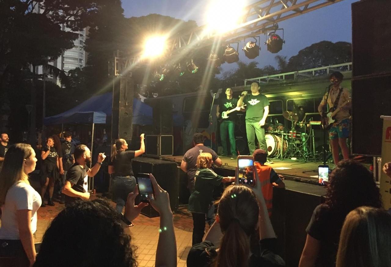 Shows marcam o Dia Municipal do Rock em Maringá