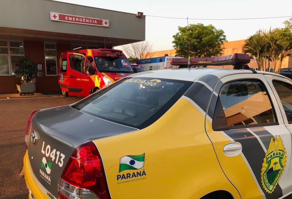 Duas pessoas são baleadas em Maringá