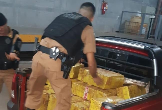 Polícia Militar apreende quase 470 Kg de maconha em Paiçandu