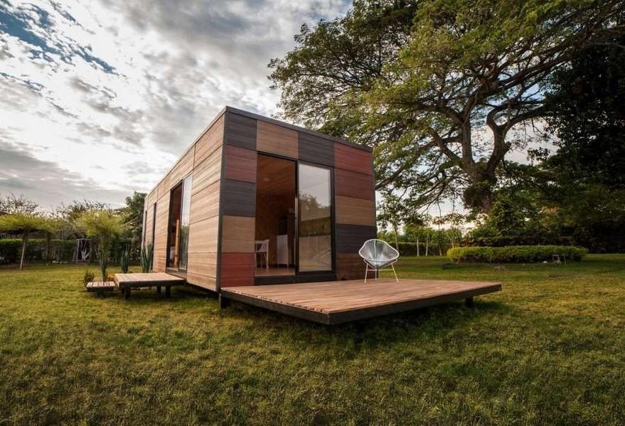 Casa sustentável modular: produção simples e inovadora