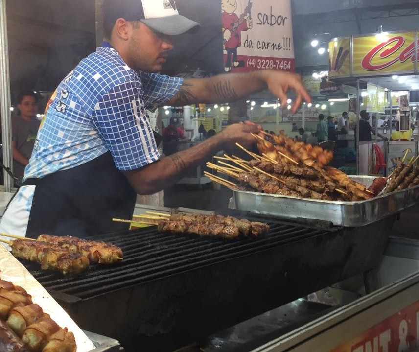 Setor gastronômico se destaca na Expoingá