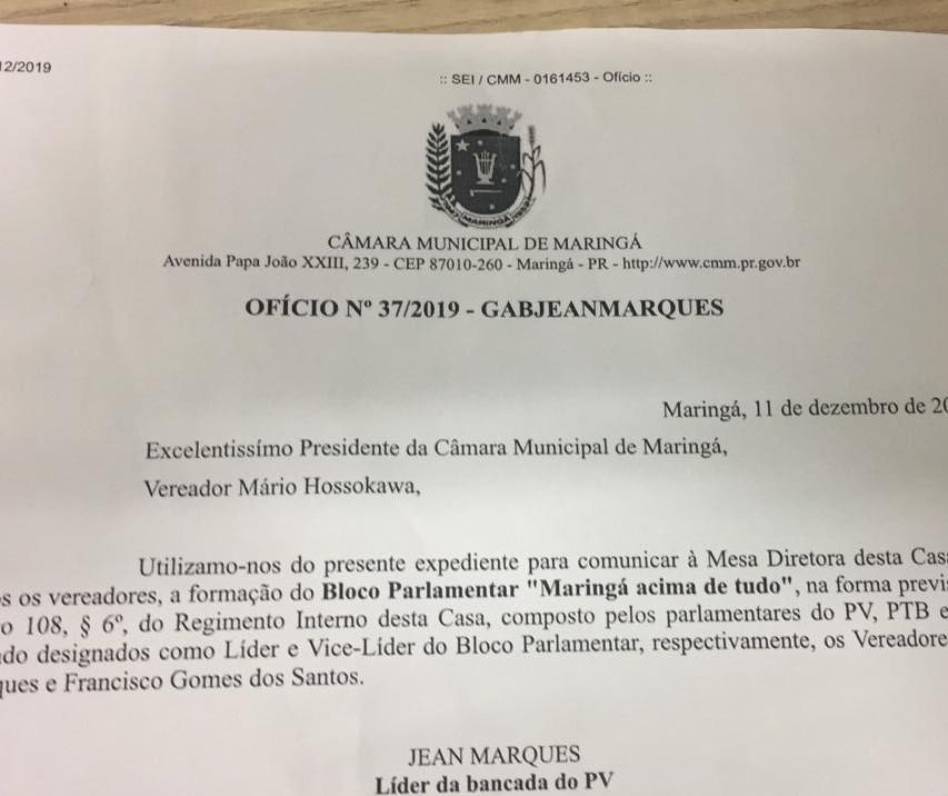 Sem assinaturas, vereadores desistem da criação de bloco na Câmara
