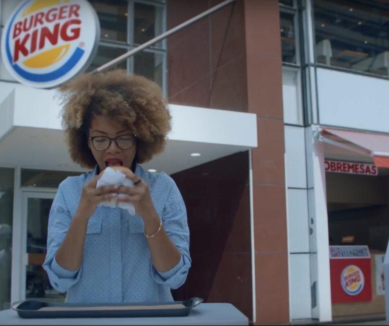 Burger King faz campanha contra voto em branco