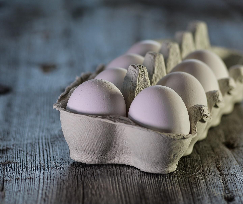 Preços dos ovos subiram 69,8% nas granjas