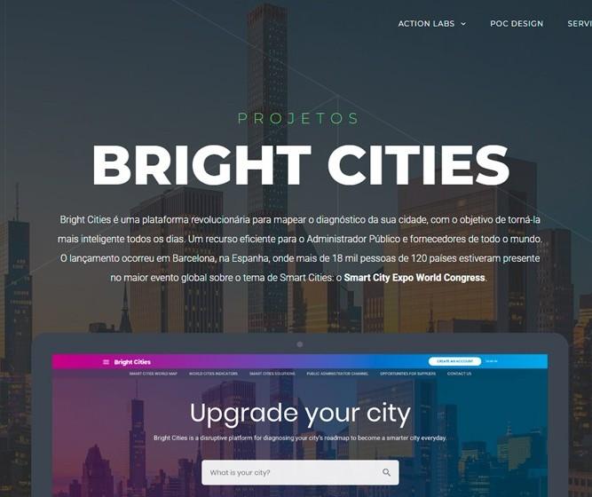 Plataforma mapeia o diagnóstico de cidades para torná-las mais inteligentes