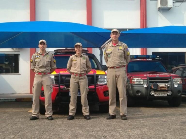 Há 15 dias bombeiros de Maringá combatem incêndios em MS