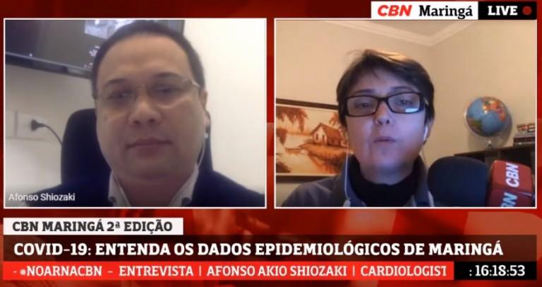 Taxa de positividade do coronavírus em Maringá cai para 16,76%