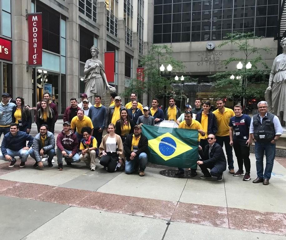 Produtores brasileiros vão aos Estados Unidos, em visita técnica, conhecer o modelo de agronegócio norte-americano