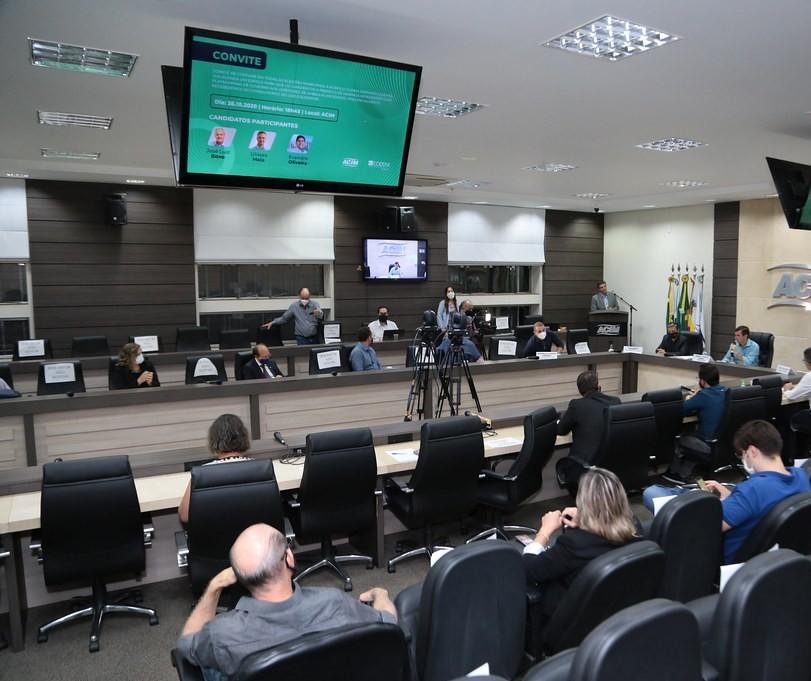 Termina nesta terça (03) a participação de candidatos à Prefeitura na Acim