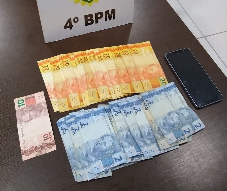 Rapaz é preso acusado de furtos no comércio de Maringá