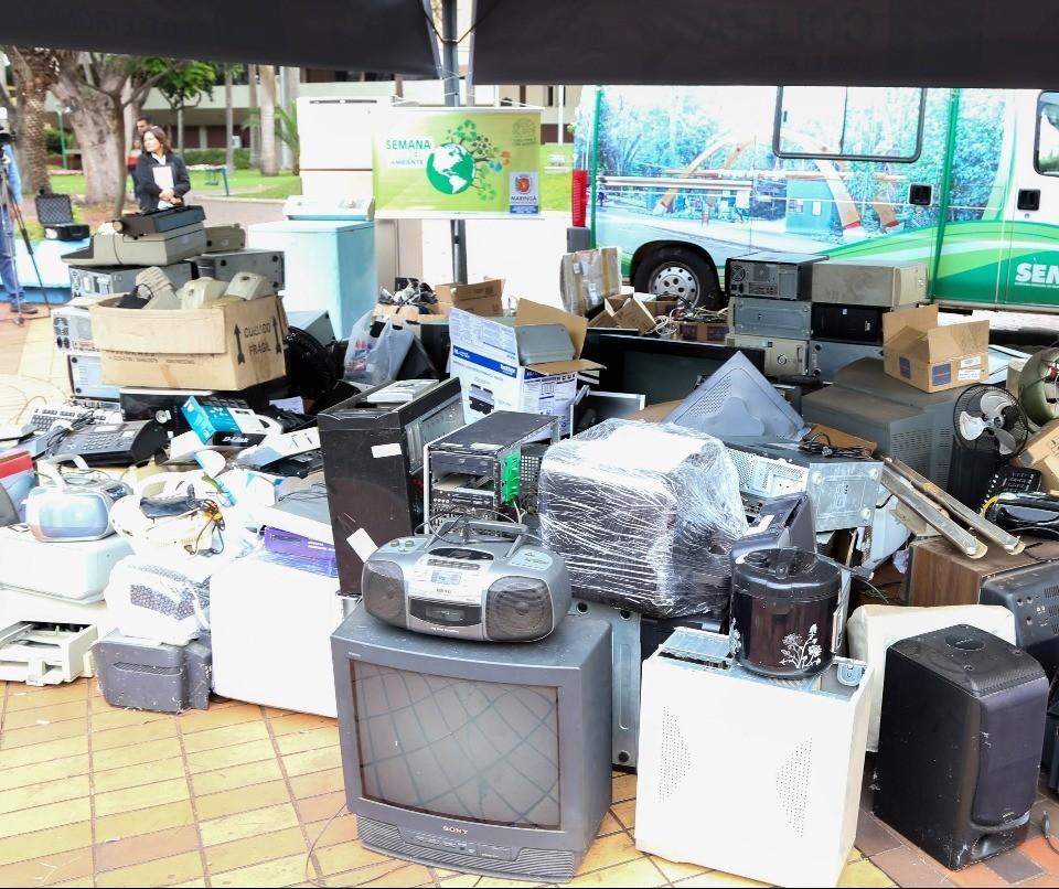 Parque do Ingá e Alfredo Nyfeller terão ecoponto de descarte no domingo (22)
