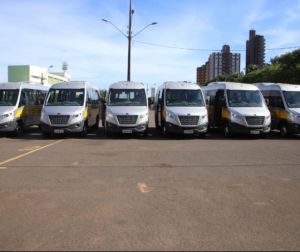 Secretaria de Educação renova frota do transporte escolar