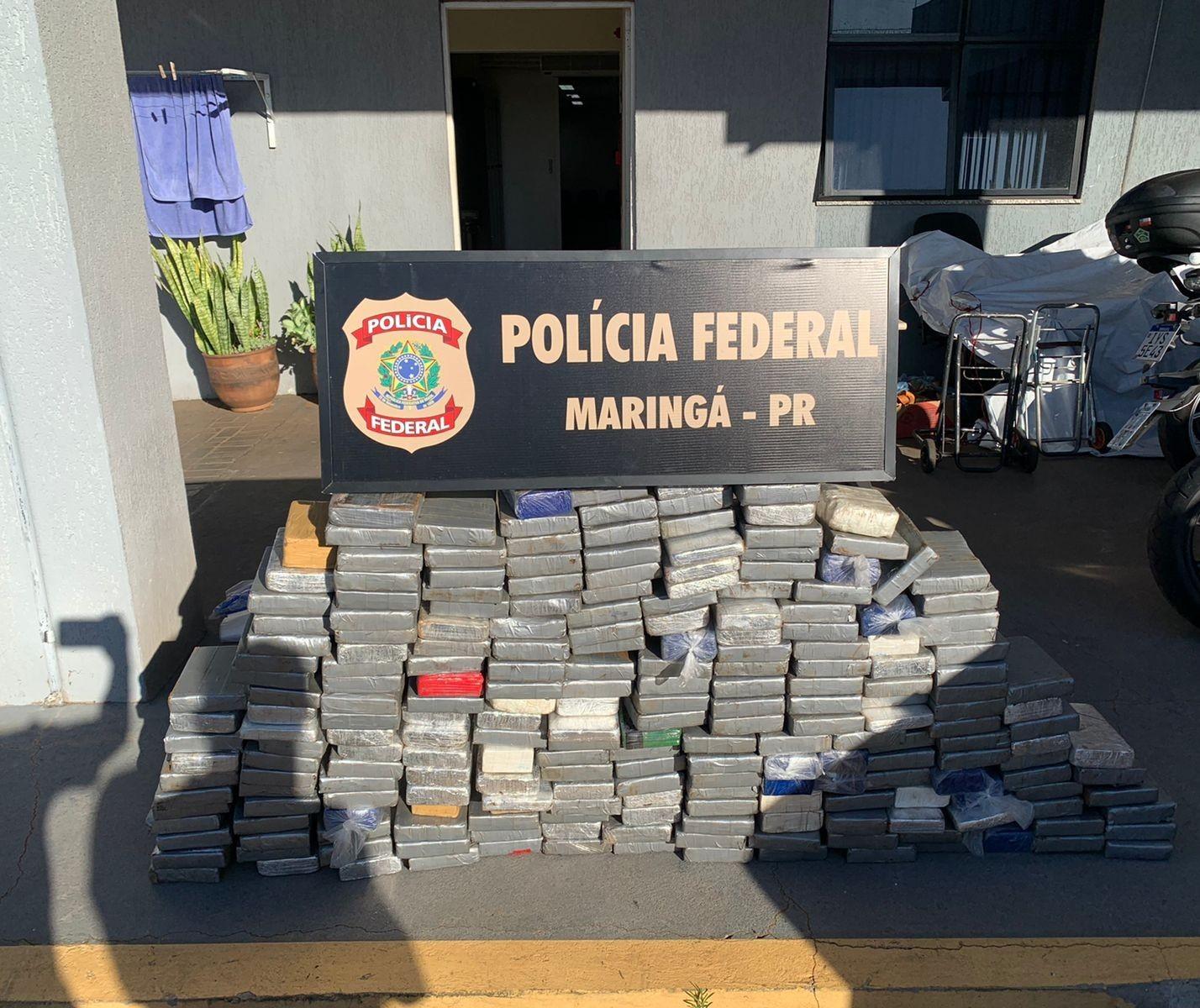 239 kg de cocaína são apreendidos em caminhão