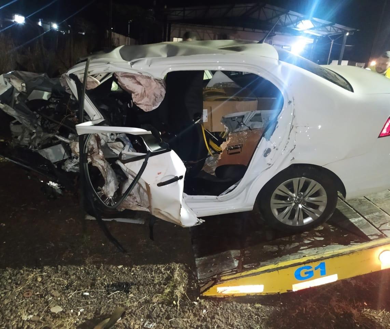 Duas pessoas morrem em acidente na PR-444 em Mandaguari