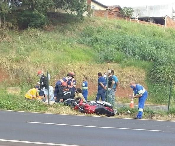 Motociclista morre em acidente na BR-376, em Mandaguaçu