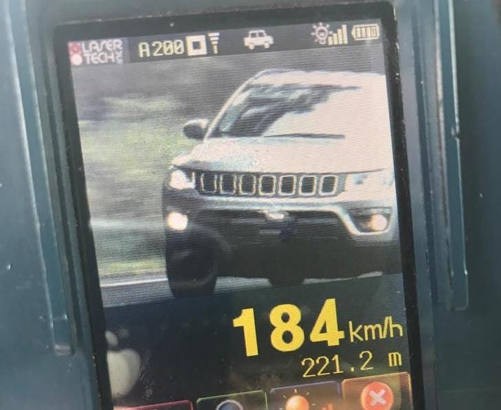 Veículos acima da velocidade nas estradas estaduais da região aumentam mais de 2000%