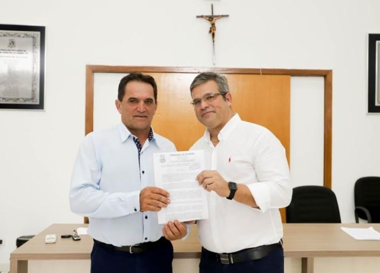 Sérgio José Santi (PSD) prefeito reeleito de Ivatuba, vai abrir um parque natural em 2021