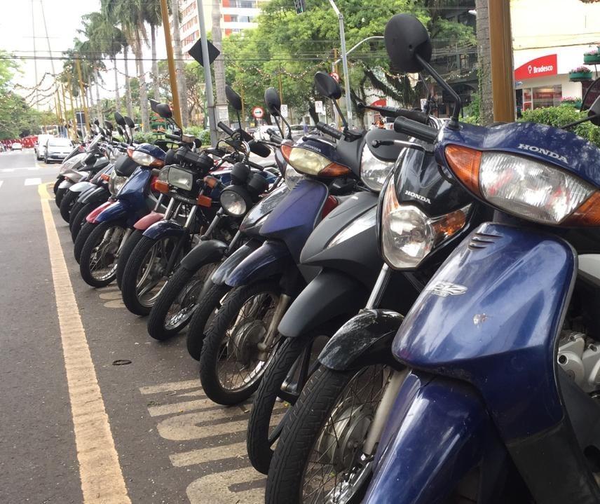 Maringá, Cianorte, Umuarama e Paranavaí têm quase 84 mil motocicletas