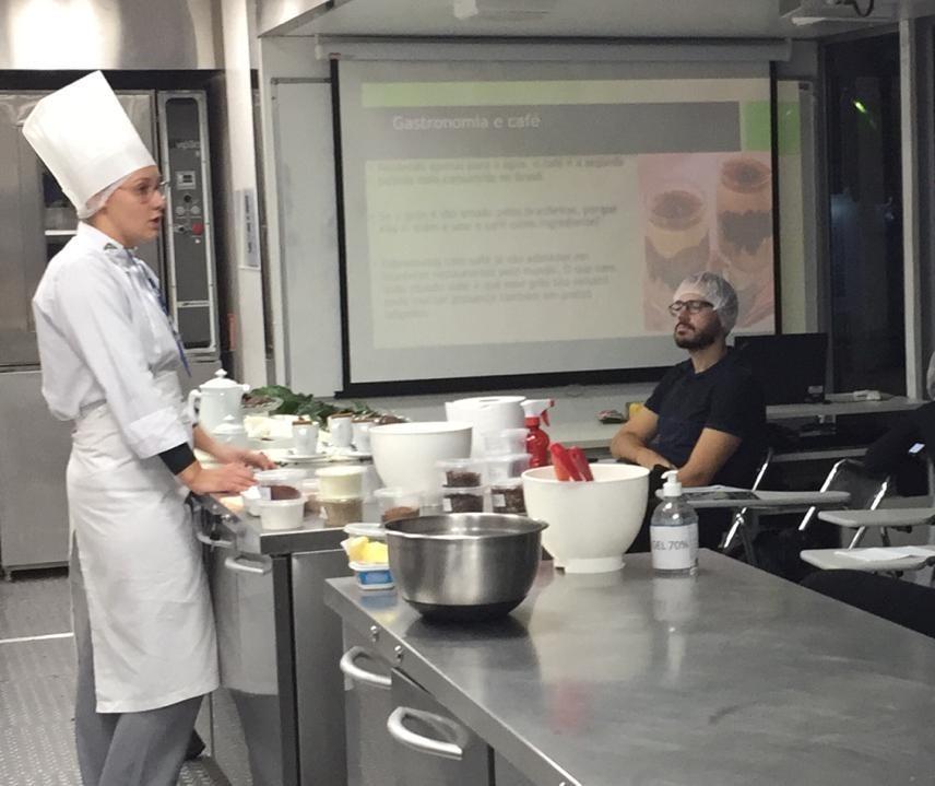 Visitantes podem fazer cursos gratuitos de gastronomia na Expoingá