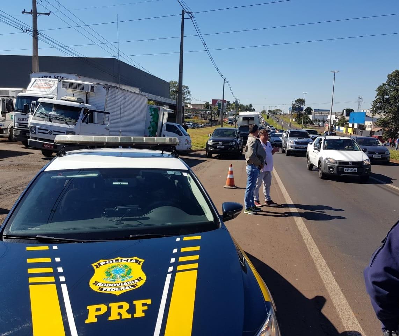 Rodovias estaduais já têm 23 bloqueios e as federais, 67