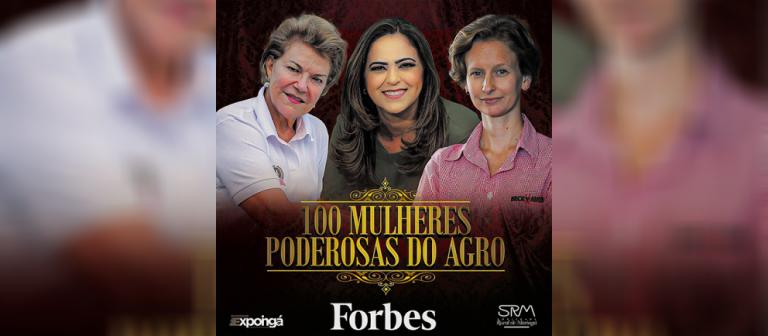 Três mulheres da SRM estão na lista das mulheres mais poderosas do agro