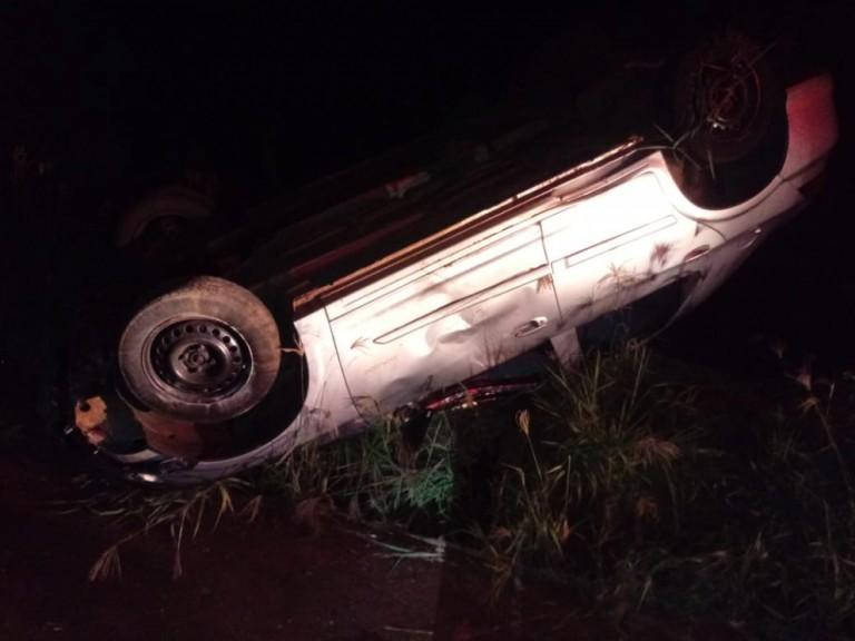 Homem morre após capotar veículo na PR-559