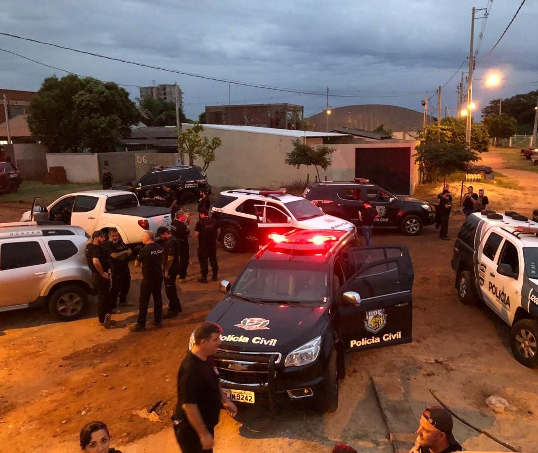 Denarc de Maringá cumpre seis mandados de prisão