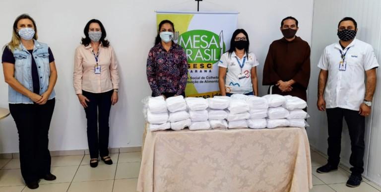 Sesc de Maringá recebe oito mil máscaras para repassar a entidades