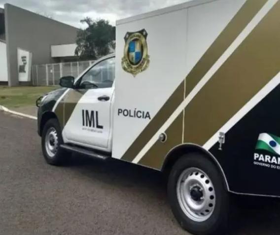 IML tenta localizar família de homem encontrado morto em frente a motel de Maringá
