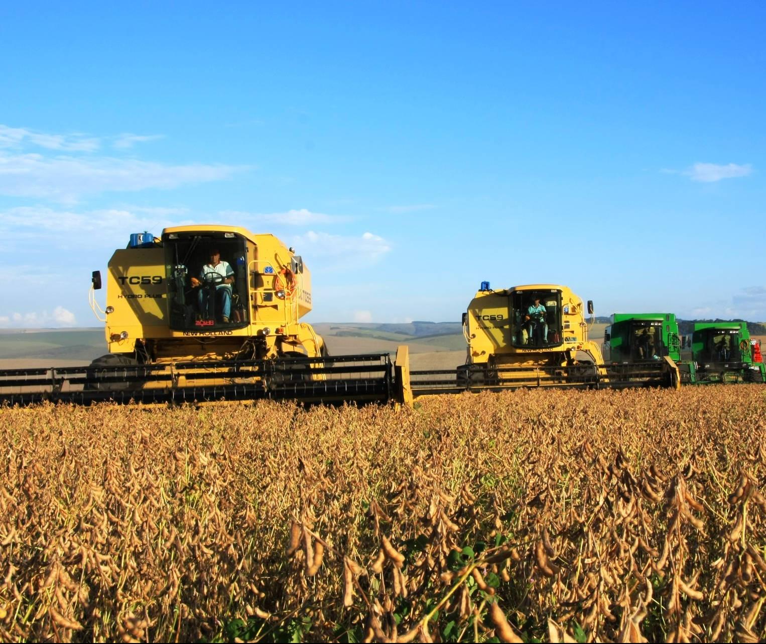 Colheita de grãos deve manter recorde de segunda maior da história