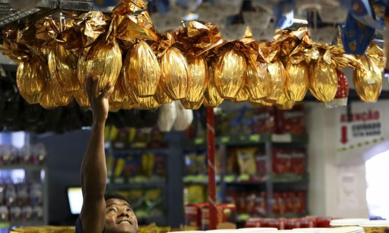 Vendas de ovos de chocolate superaram as previsões