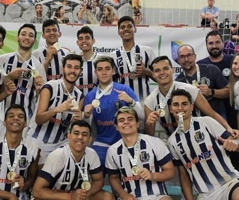 Colégio de Nova Esperança garante vaga no Mundial Escolar de Voleibol