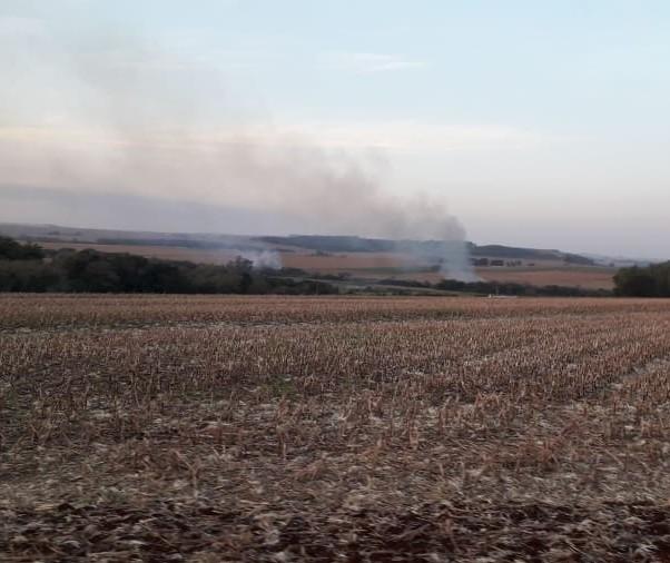 Sábado (20) atípico com seis incêndios ambientais em Maringá