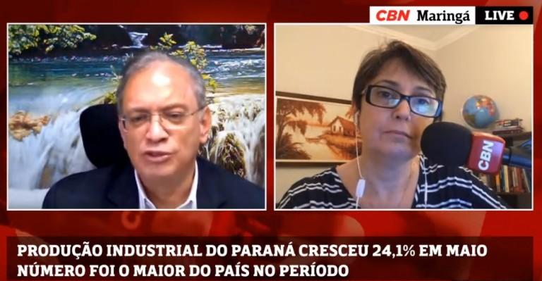 Produção industrial do Paraná em maio foi a que mais cresceu no país
