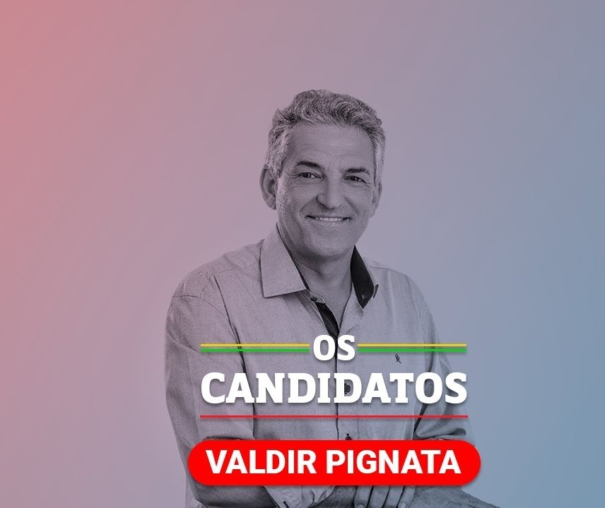 Quem é o candidato Valdir Pignata e quais são suas propostas?