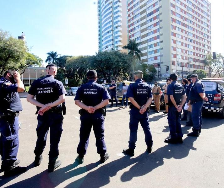 Em Maringá, fiscalização multa 4 pessoas que descumpriram toque de recolher