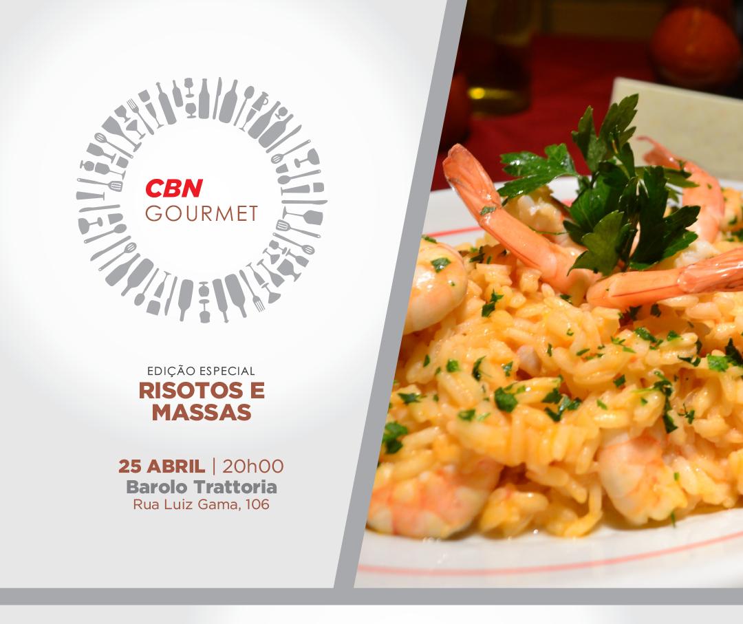 CBN Gourmet – Edição Risotos e Massas Artesanais