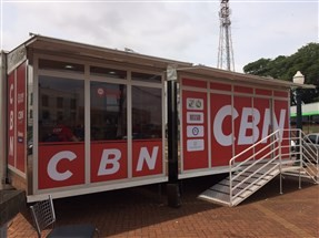 Esta semana a CBN Maringá colocou o pé na estrada  com o projeto Estúdio Móvel CBN