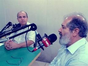 Humberto Henrique e Heine Macieira debatem na CBN o aumento de salários dos políticos de Maringá
